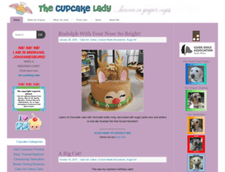 angelscupcakes.co.za screenshot