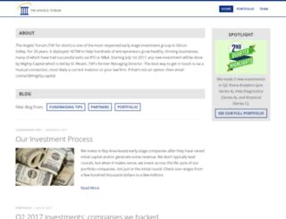 angelsforum.com screenshot