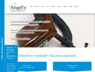 angelsgroup.cz screenshot