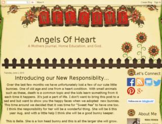 angelsofheart.blogspot.com screenshot