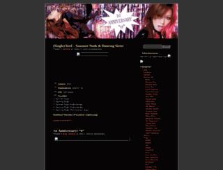 angelsong.wordpress.com screenshot