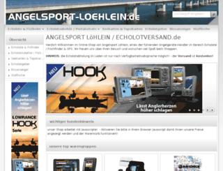 angelsport-loehlein.de screenshot