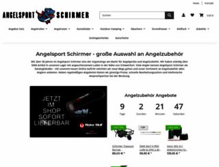 angelsport-schirmer.de screenshot