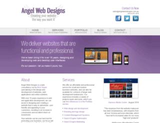 angelwebdesigns.com.au screenshot