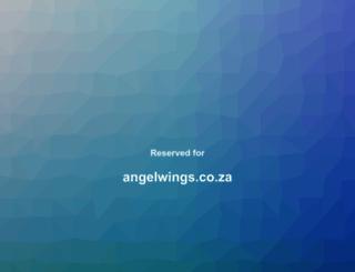 angelwings.co.za screenshot