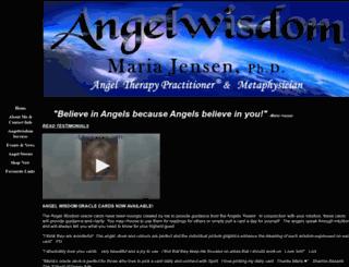 angelwisdom.ca screenshot