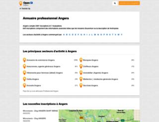 angers.opendi.fr screenshot