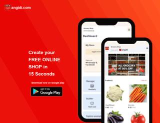 angidi.com screenshot