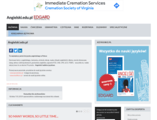 angielski.edu.pl screenshot