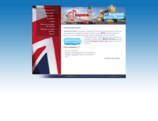 angielskionline.eu screenshot