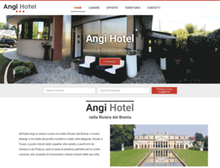 angihotel.it screenshot