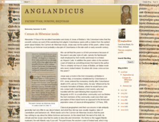anglandicus.blogspot.ie screenshot