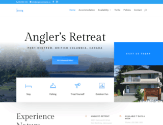 anglersretreatbc.ca screenshot