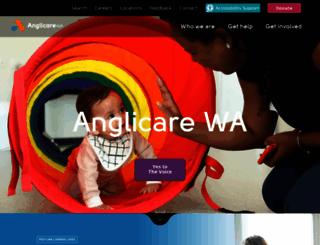anglicarewa.org.au screenshot