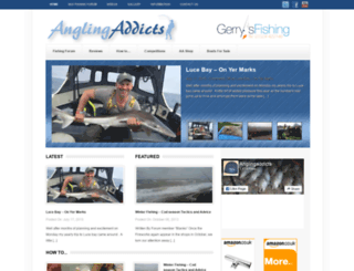 anglingaddicts.co.uk screenshot