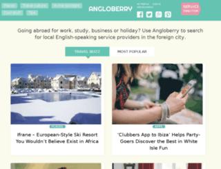 angloberry.com screenshot