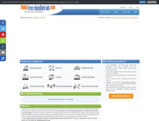 angola.global-free-classified-ads.com screenshot