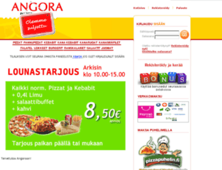 angora.gopizza.fi screenshot