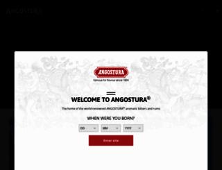 angostura.com screenshot