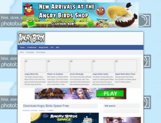 angry-birds-online.blogspot.com screenshot