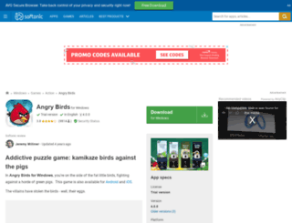 angry-birds.en.softonic.com screenshot