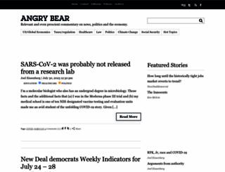 angrybearblog.com screenshot