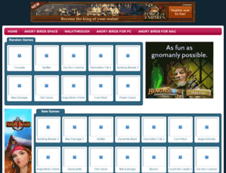 angrybirdschrome.com screenshot