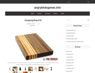 angrybirdsgames.info screenshot