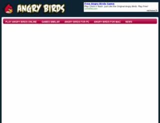 angrybirdsthegameonline.com screenshot