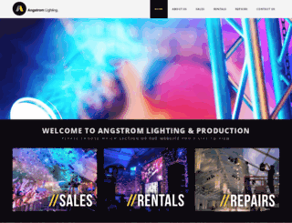 angstromlighting.com screenshot
