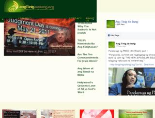 angtinigsailang.org screenshot