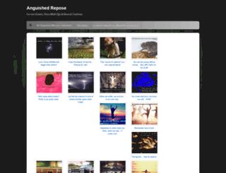 anguishedrepose.wordpress.com screenshot