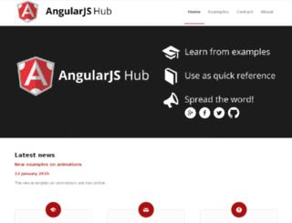 angularjshub.com screenshot