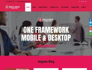angularjstutorials.net screenshot