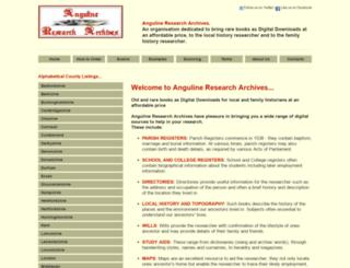 anguline.co.uk screenshot