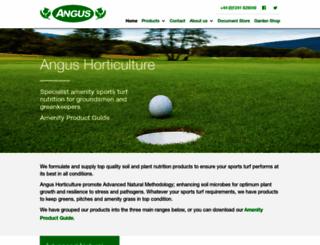 angus-horticulture.co.uk screenshot