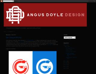 angusdoyledesign.blogspot.co.uk screenshot