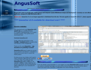 angussoft.co.uk screenshot