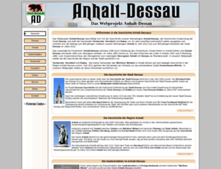 anhalt-dessau.de screenshot