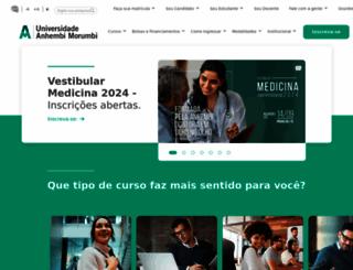 anhembi.br screenshot