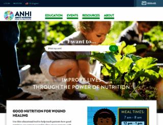 anhi.org screenshot