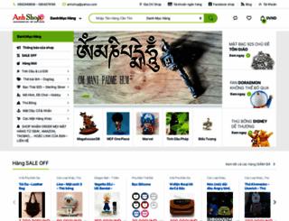 anhshop.com screenshot
