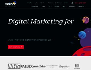 anicca.co.uk screenshot