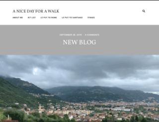 anicedayforawalk.com screenshot
