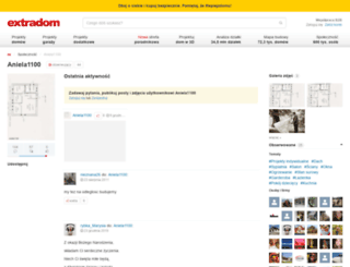 aniela1100.extradom.pl screenshot
