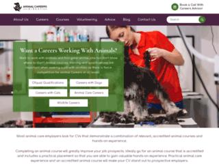animal-job.co.uk screenshot