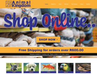 animal-kingdom.co.za screenshot