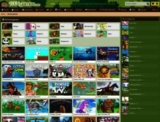 animal.gamesxl.com screenshot
