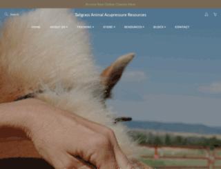 animalacupressure.com screenshot