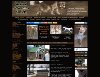 animaladvocates.com screenshot